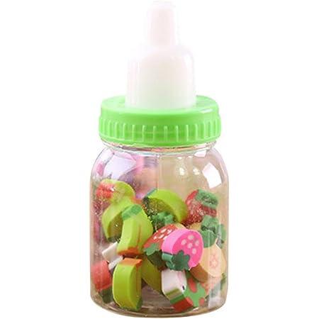 idea regalo per la scuola Random Color uyhghjhb in gomma Confezione da 20 gomme da cancellare a forma di farfalla e fiore per bambini
