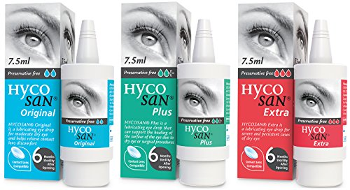 Hycosan Plus & Extra & Eye Moisturiser 7.5 ml || Special Combo pack