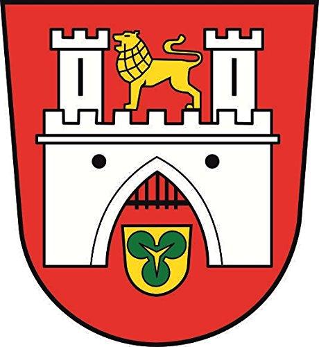 U24 Aufkleber Hannover Wappen Autoaufkleber Sticker Konturschnitt