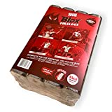Jealous Devil Blox Hickory & Oak Compressed Natural Hardwood Firewood for Cooking and Grilling, 12 Logs