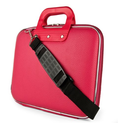 Cady Schultertasche für Tablets, iPad, Galaxy, Yoga, Transformer Pad, Omni, MeMO Pad, ThinkPad, IdeaTab & andere Pink Rose 10 in.