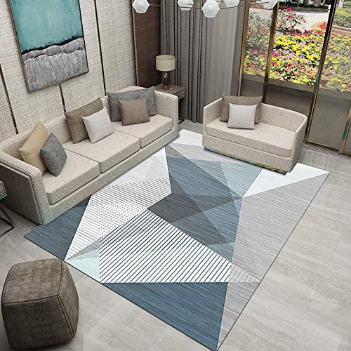 ZHUS Hauptdekoration Teppich Bett Teppiche Salon Dekor Bereich Teppich Colourfast Leicht zu reinigen Trendy...