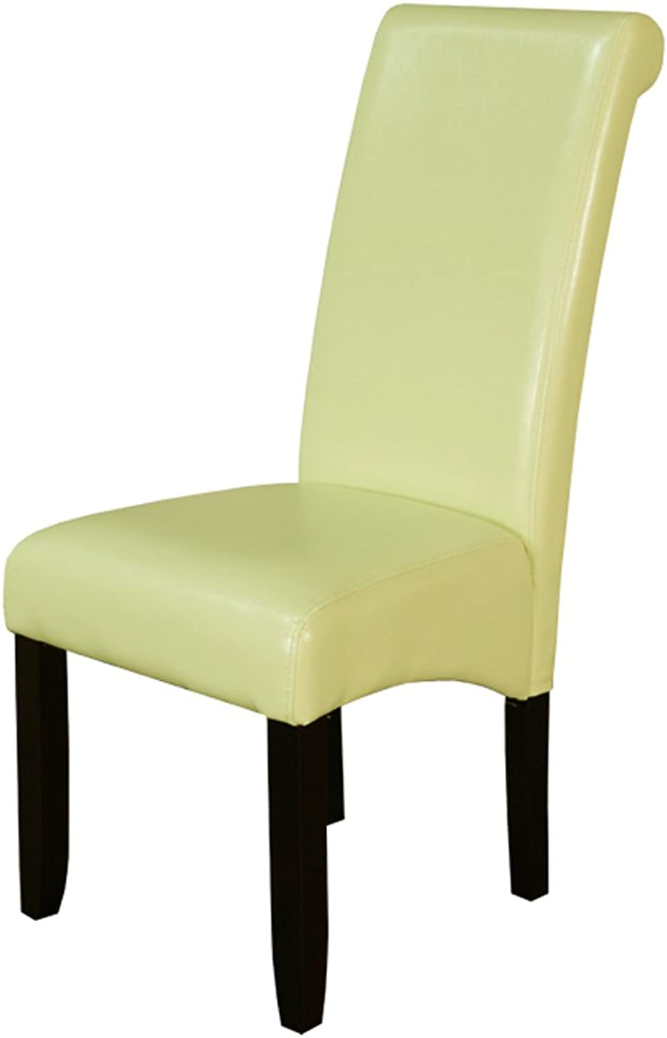 Monsoon Pacific Milan Faux Leather Dining Chairs, Wax Green, Set of 2