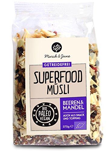 Bio Superfood Müsli Beeren & Mandel