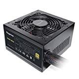 Segotep 600W Non-Modular Gaming Power Supply 80 Plus Gold Certified PSU with Silent 120mm Fan