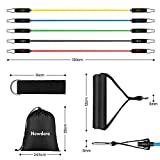 Zoom IMG-1 newdora elastici fitness palestra kit