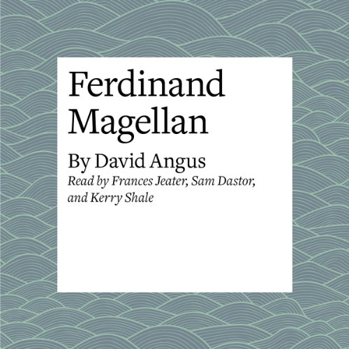 Ferdinand Magellan audiobook cover art