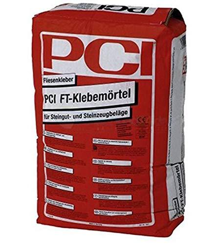 PCI FT Klebemörtel 25 kg - Fliesenkleber für Steingut- und Steinzeugbeläge