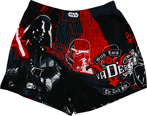 Star Wars Darth Vader The Dark Side Men's Boxers, Assorted, Small