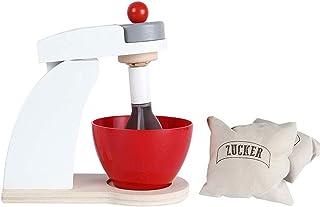 Ulalaza Mezclador de Madera Simulador de Cocina Juguetes de Cocina Juego de imaginación Juguete para niña Niño Regalos
