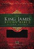 KJV Study Bible, Large Print, Bonded Leather, Black, Red Letter: Second Edition