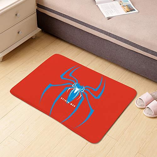 happymxwx Stoff Korallenvlies Home Cartoon 60x40cm kleine Spinne,Klappbare Yoga Matte Fitnessmatte Sportmatte Fitness Pilates Sport Gymnastikmatte rutschfest - Reise Yogamatte faltbar