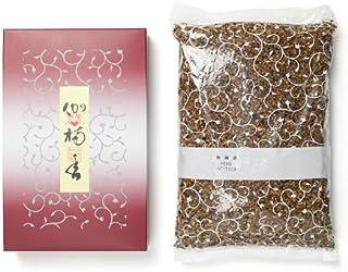 松栄堂のお焼香 伽楠香 500g詰 紙箱入 #410611