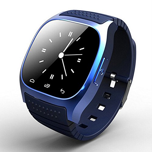 Bluetooth Smart Watch con Mic impermeabile orologio digitale compatibile con Android e ios- orologio da polso Smart Touch Screen Sync Phone Message Mate
