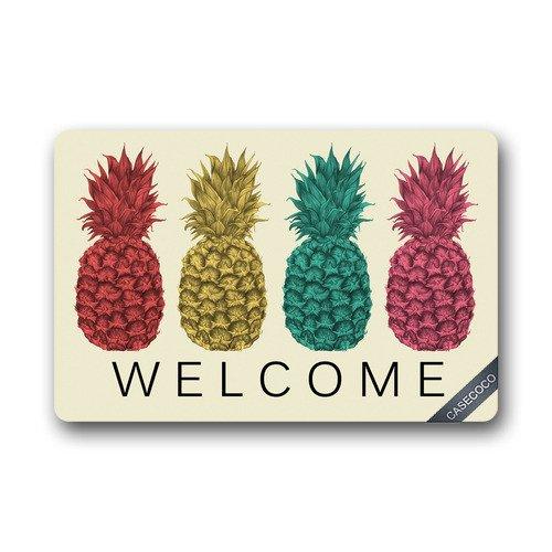 Colsprint - Felpudo de piña, diseño de frutas