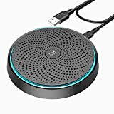 Conference USB Microphone, ANSTEN Omnidirectional Condenser PC Mic Pick Up Voice 10ft,Ideal for Video Conferencing Recording, Skype, Online Class, Court Report, Compatible with Mac OS X Windows