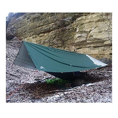 LPL Engranaje Ultraligero Recubrimiento de Plata Anti UV Sun Shelter Beach Tent Pergola Toldo Canopy 210T Tafetán Tarp Camping Toldo Tienda (Color : 5X3m Blue)