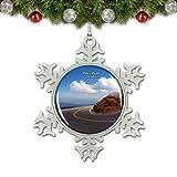Umsufa America USA Pikes Peak Highway Christmas Ornament Tree Decoration Crystal Metal Souvenir Gift