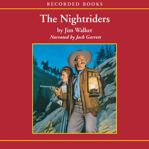 The Nightriders audiobook cover art
