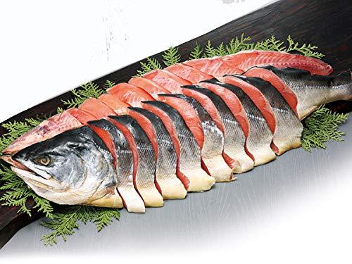 北海道産 時鮭姿切り身(約2kg)×1尾【出荷元:北海道四季工房】