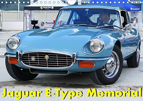 Jaguar E-Type Memorial (Wandkalender 2021 DIN A4 quer)