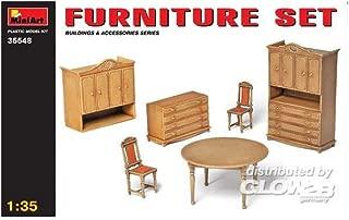 MiniArt 1:35 Scale Furniture Set Plastic Model Kit