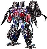 YOYOL Transformers Kingdom Transformers Juguetes, Optimus Prime y Jetfire Deformación de aleación de Juguete para niños Transformers Optimus Prime Toys Elder Skyfire Figura de acción de Optimus Prime