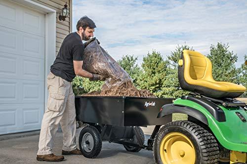 Agri-Fab 45-0101 750-lb Max Utility Tow Behind Dump Cart