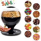 LZYJW Candy Dispenser/Bean Dispenser Machine/Candy Dispenser Machine, Smart Sensor, Large Capacity, Motion-Activated-for Candy, Nuts, Snack Mix, Cereal etc, For Home/Kitchen/Office