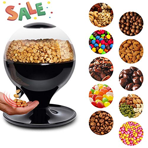 Dispensador de caramelos/dispensador de Bean máquina/máquina de caramelos, sensor inteligente, Gran Capacidad, motion-activated-for Candy, frutos secos, mezcla de aperitivos,...