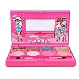 Caja de juego de cosméticos de maquillaje para niños portátil, juego de maquillaje para niños, caja de maquillaje de princesa, juego de cosméticos para niñas, juego de cosméticos para niñas(H102Z)