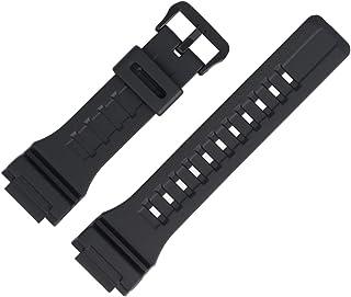 Casio Bracelet de Montre 28mm Plastique Noir W-735H