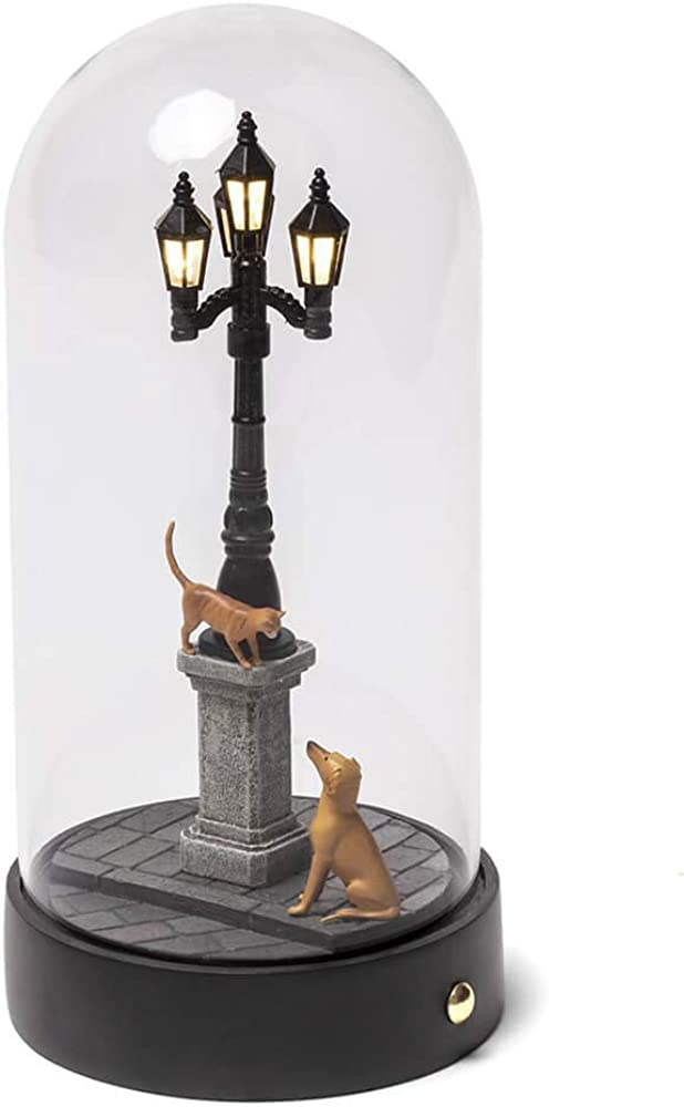 Seletti,lampada da tavolo in resina my little evening,in resina termoplastica e vetro DM16535