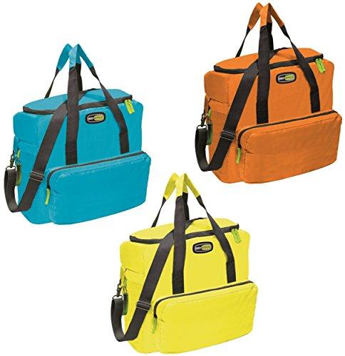 giostyle 370V25 Cool Bag Vela + XL 33l Dotata di Tracolla e Tasca Frontale, Poliestere 420 D, Azzurro
