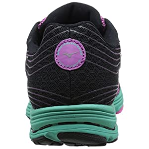 Mizuno Women's Wave Sayonara 3 Running Shoe, Wild Aster Electric, 6 B US