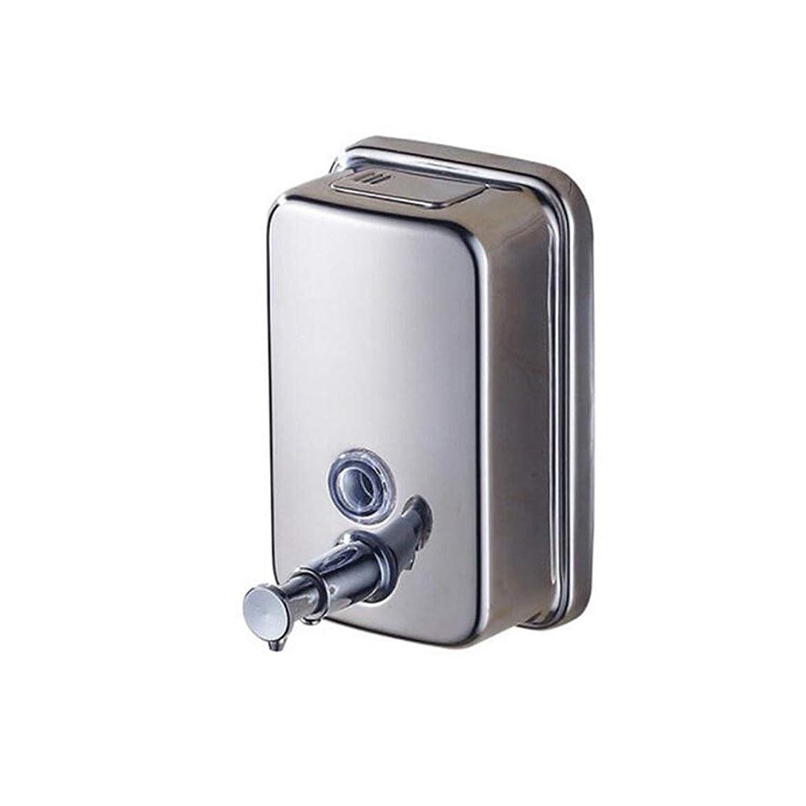 織る観光に行く渇きKylinssh 台所の流しおよび浴室のための単に壁に設置されたソープディスペンサー - ソープディスペンサーホルダー
