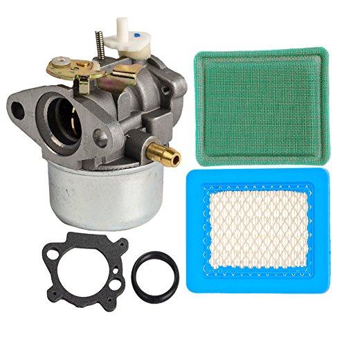 Ouyfilters-Carburetor for Briggs & Stratton 497586 499059 799869 792253 nettoyeur haute pression tondeuse à gazon avec cartouche de filtre à air 491588 / s pour Honda GC135 GC160Préfiltre 271933