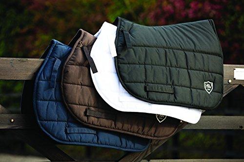 Horseware Rambo Sattelunterlage mit Vari-Layer - weiß - Schabracke, Ausführung:Pony/Cob (S)