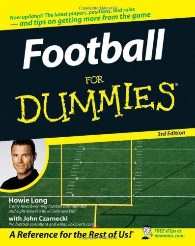 Football For Dummies, (USA Edition)