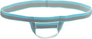 YiZYiF Men's O String Backless Bikini G-string Underwear Mention Ring Accessories