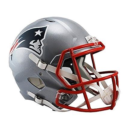 Riddell - Casco réplica de NFL, NFL, Color Rojo, tamaño Medium
