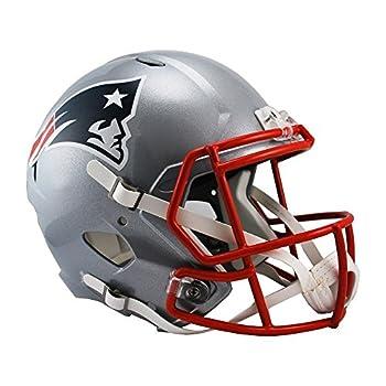 Riddell NFL New England Patriots Full Size Speed Replica Football Helmet