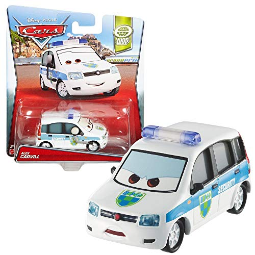 Disney Pixar Cars Alex Carvill (WGP Series, #17 of 17) - Voiture Miniature Echelle 1:55
