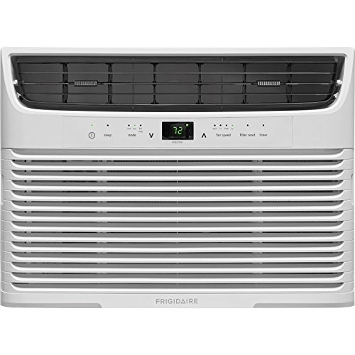 FRIGIDAIRE FFRA1222U1-12,000 BTU 115V Window-Mounted Compact Remote Control Air Conditioner, White