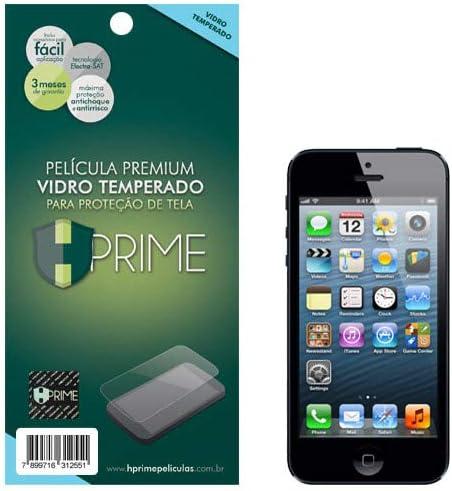 Pelicula de Vidro temperado 9h HPrime para Apple iPhone 5/ 5S/ SE, Hprime, Película Protetora de Tela para Celular, T...
