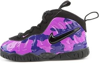 Nike Little Posite (TD), Purple Camo/Black, Toddler 843769 012