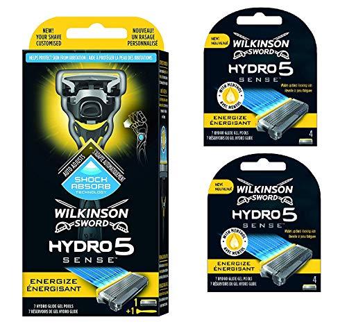 Wilkinson Sword Hydro 5 Sense Pack of Handle and 8 Blades