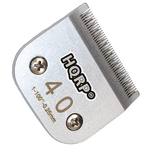 HQRP Tier Schermesserersatz Größe-40 für Oster A5 / A-5 Turbo 2-Speed 078005-314-002 / Golden A5 / Turbo A5 Untersetzer