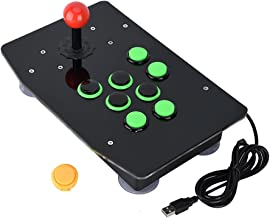 USB Arcade Fighting Joystick Controller, Game Console No Delay for PC Computer Games