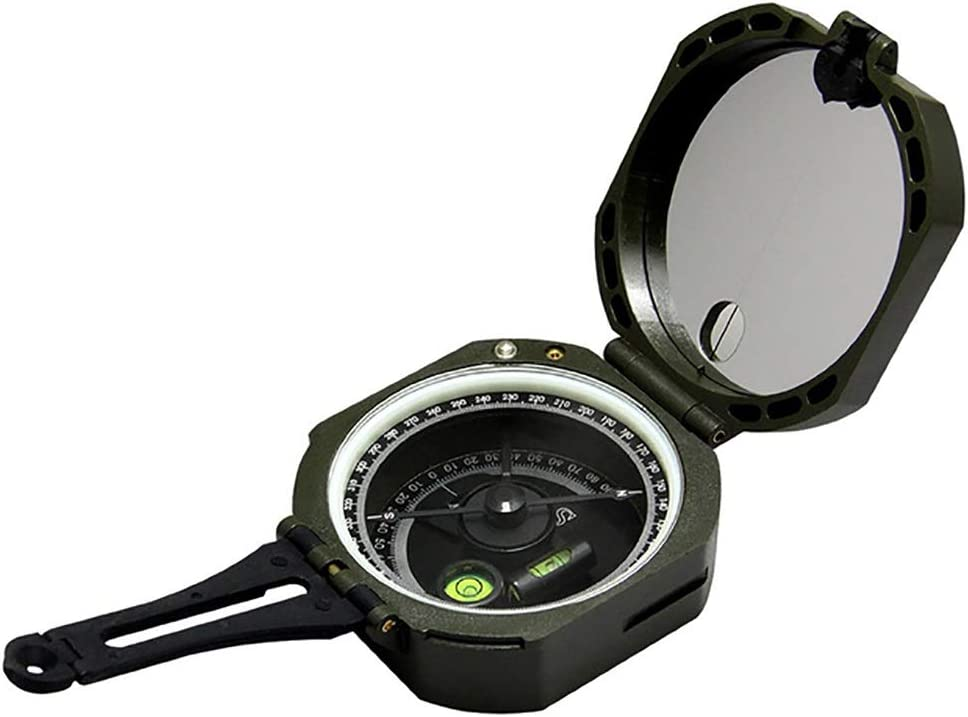 RUIXFFT Outdoor Dedication Al sold out. Foldable Compass Luminous Pr Waterproof Handheld